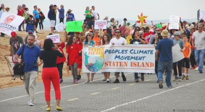 Staten Islanders march on climate change
